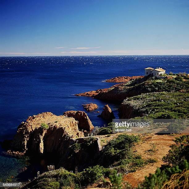 Küstenlandschaft bei St Raphael 90er Jahre