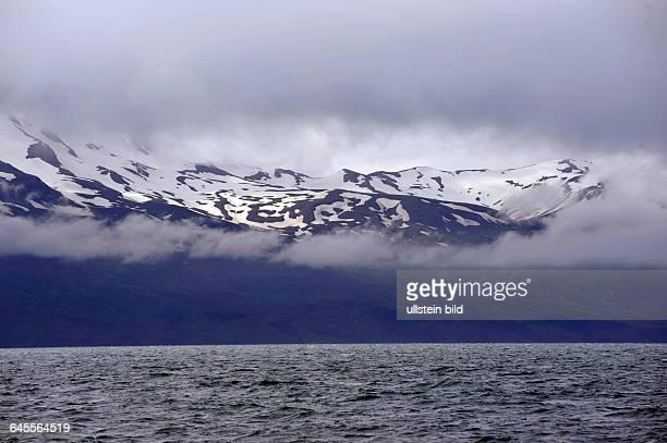 Küstenlandschaft der Halbinsel Flateyjardalsheidi bei Husavik Island
