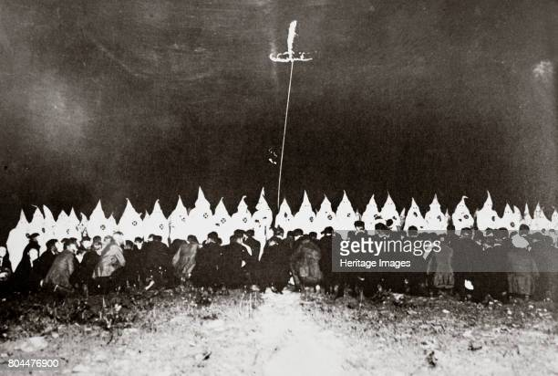 Ku Klux Klan initiation ceremony near Brunswick Maryland USA c1920s The second incarnation of the Ku Klux Klan was founded in 1915 In the years...