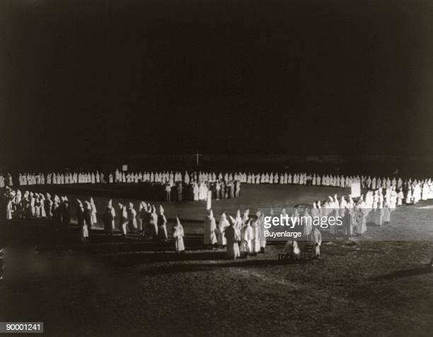 Ku Klux Klan initiation