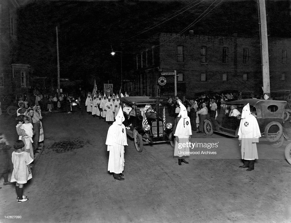 Ku Klux Klan Parade : Photo d'actualité