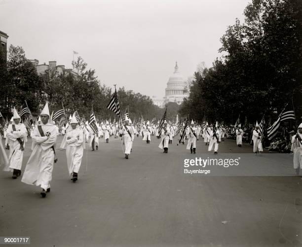 Ku Klux Klan parade DC