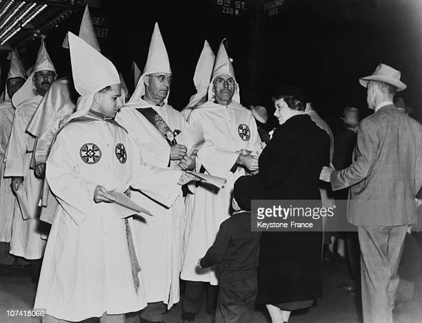 Ku Klux Klan Parade In Los Angeles On March 31St 1940