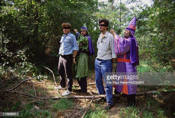 Ku Klux Klan Usa In United StatesOur reporters including Saola photographer Eric Pasquier let themselves be blindfolded in order to enter the...