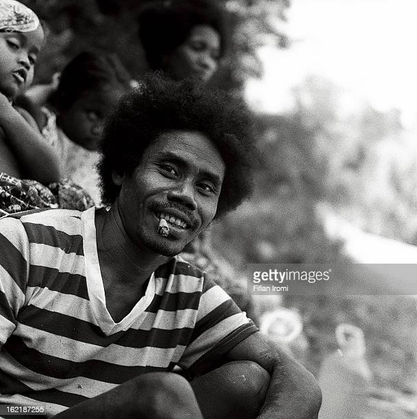 CONTENT] Kuala KohMalaysia March 1 2010 Man from Bateq Tribe smoke a cigarette Bateq also written Batek is an Orang Asli tribe in Malaysia Today...