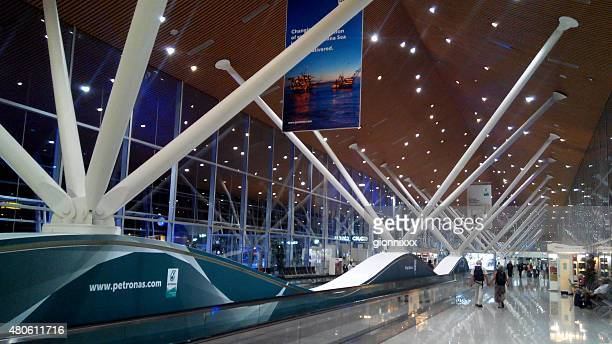 Kuala Lumpur International Airport terminal, indoor architecture