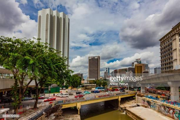 kuala lumpur, malaysia. city street - anton petrus stock pictures, royalty-free photos & images
