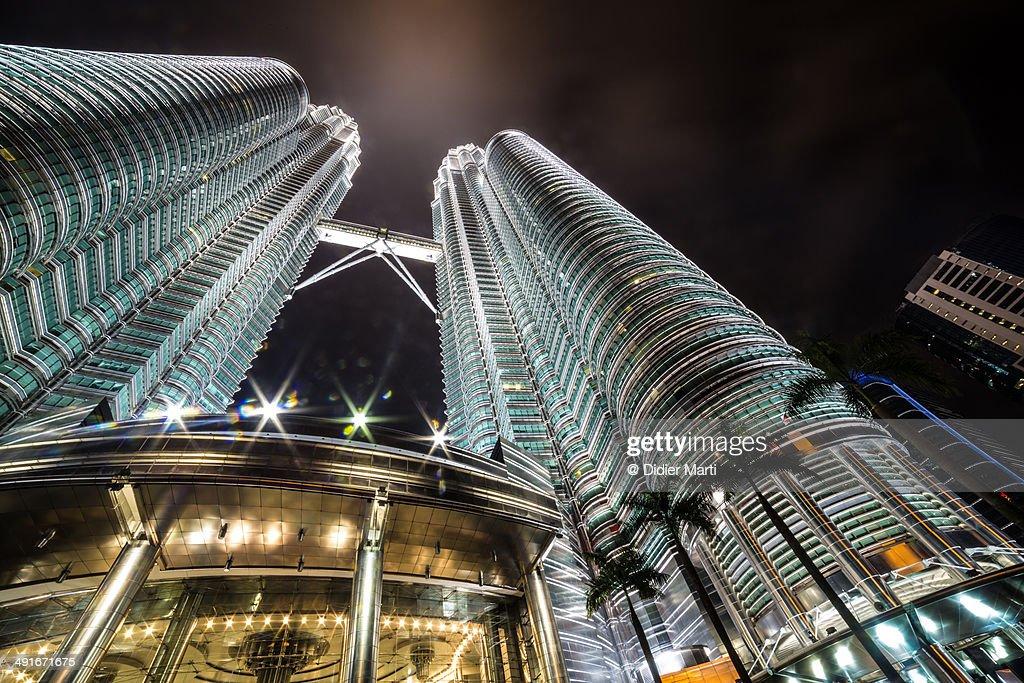 Kuala Lumpur Petronas Tower : Stock Photo
