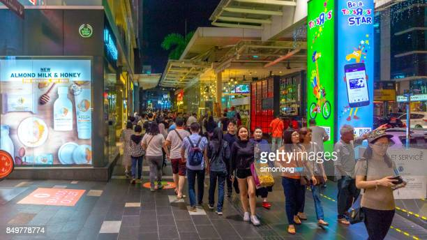 Kuala Lumpur Shopping Street .
