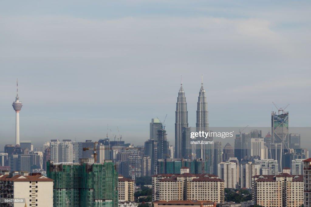 Kuala Lumpur skyline : ストックフォト