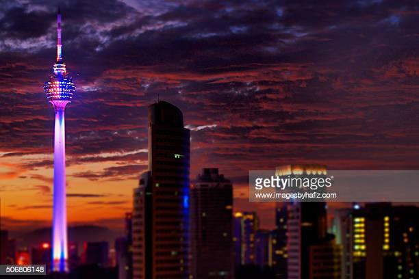 Kuala Lumpur Tower at Sunrise