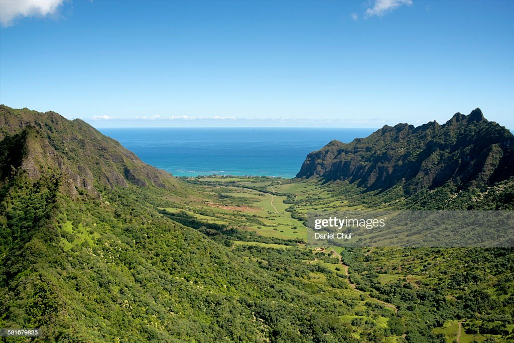 Kualoa Ranch : Stock Photo