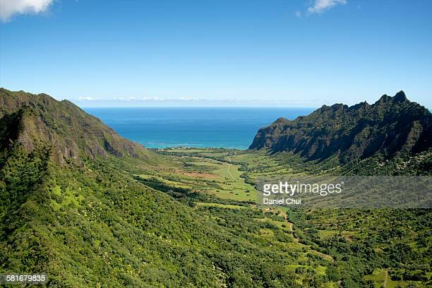 kualoa ranch - ranch stock pictures, royalty-free photos & images