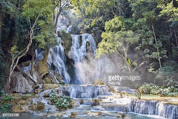 Kuang Si Waterfall, Luang Prabang Province, Laos (Lao PDR)