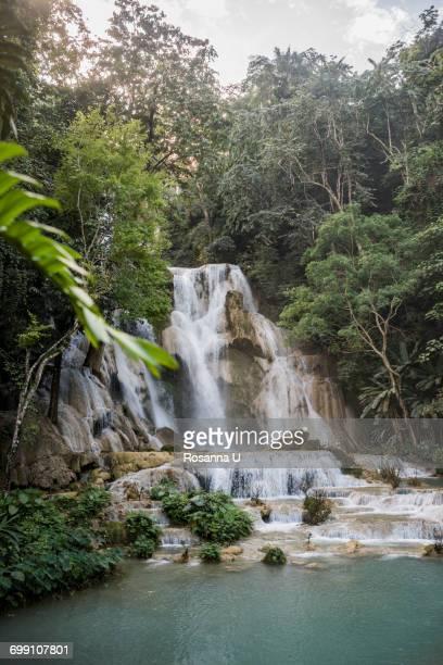 """Kuang Si Waterfalls, Luang Prabang, Laos"""