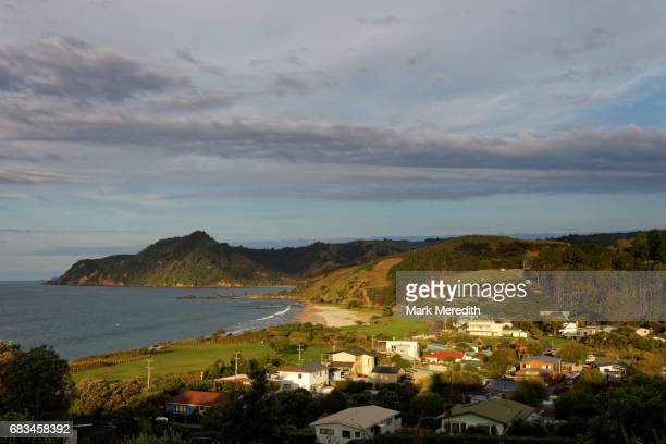 Kuaotunu village in the Coromandel, sundown