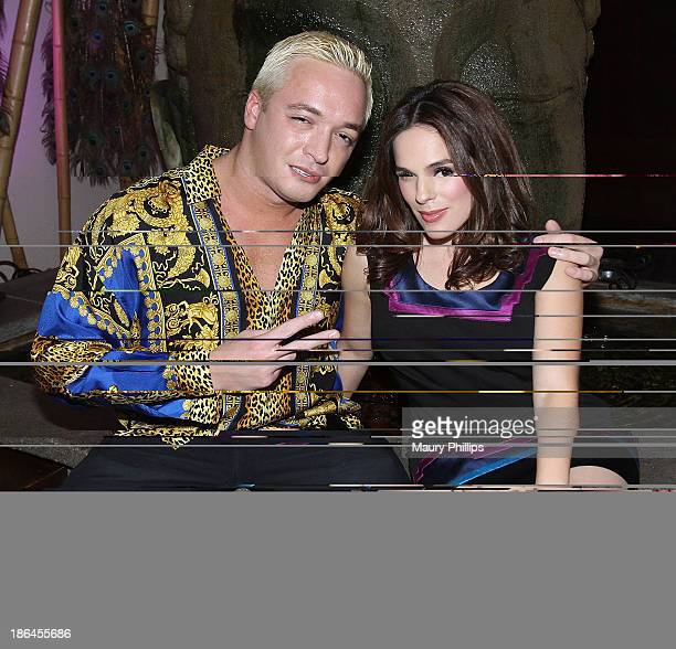 Kuba Ka and Christina DeRosa attend the Launch Party for Fooducation from The Spice Princess hosted by Christina DeRosa at The GRAMMY Museum on...