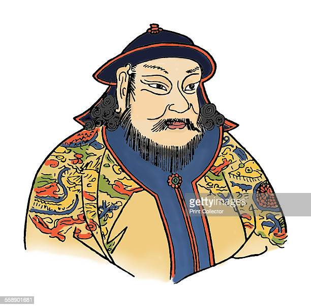 Kublai Khan was the fifth Khagan of the Mongol Empire reigning from 1260 to 1294 He was the founder of the Yuan Dynasty a division of the Mongol...