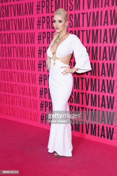 Kubo attends the MTV MIAW Awards 2018 at Arena Ciudad de Mexico on June 2 2018 in Mexico City Mexico