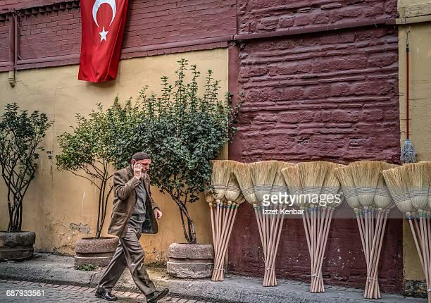 Kucukpazar street scene, Istanbul Turkey