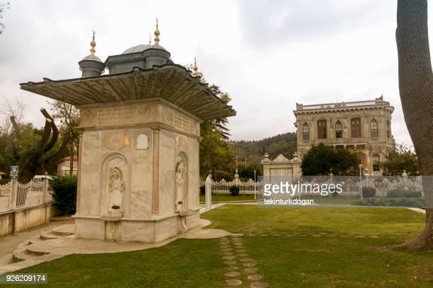 Kucuksu palace is historical summer hunting pavillion of ottoman emperor at anatolian side of istanbul turkey