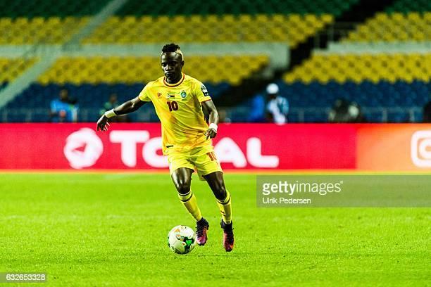 Kudakwashe Mahachi of Zimbabwe during the African Nations Cup match between Zimbabwe and Tunisia on January 23 2017 in Libreville Gabon