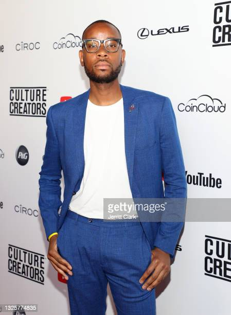 Kudzi Chikumbu, recipient of the 2021 Culture Creators Tech Award attends the Culture Creators Innovators & Leaders Awards at The Beverly Hilton on...