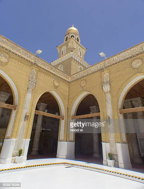 kufa mosque - najaf stock pictures, royalty-free photos & images