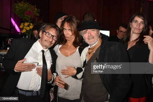 Kuh Kanh Florence and painter Ruben Alterio attend the Avon Life Colour Party by Kenzo Fragrance Launch as part of the Paris Fashion Week Womenswear...