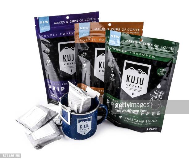 Kuju coffee products one of the items for the Post's annual gift guide on October 2017 in Washington DC