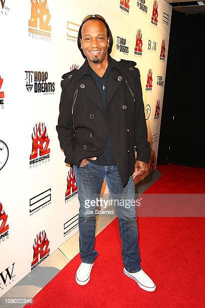 Kuk Harrell attends the Tricky Stewart And RedZone Entertainment PreGRAMMY Party presented by rdiocom at The Playhouse on February 11 2011 in...