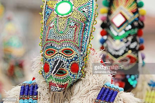 Kukeri masks