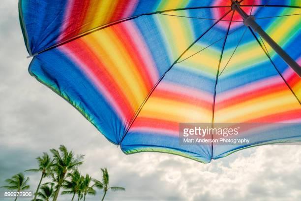 Kukio Beach Umbrella #3
