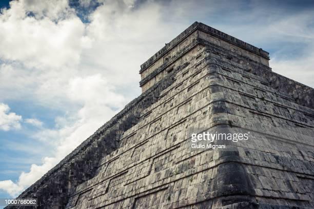 Kukulkan Pyramid (el Castillo) at Chichen Itza, Yucatan, Mexico