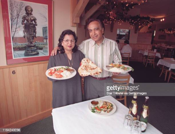 Kul and Sarita Kalra with some of the tandoor specialties and maybe a curry or two Sarita and Kul Kalra owners of the Tandoor Indian Restaurant...