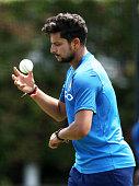 sydney australia kuldeep yadav bowls nets