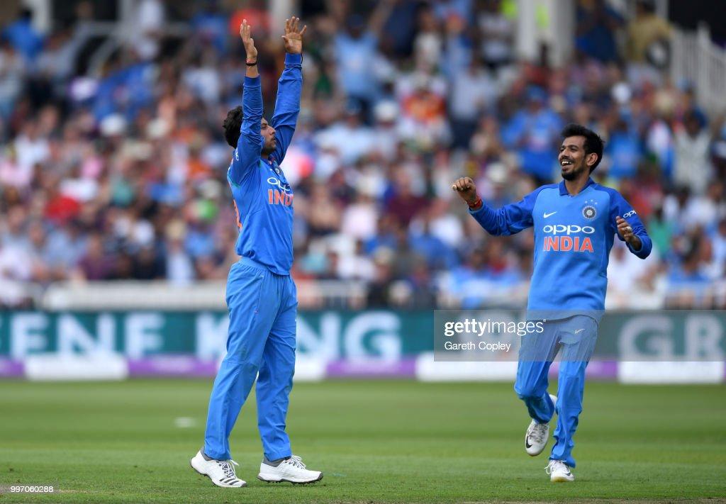 England v India - 1st ODI: Royal London One-Day Series : ニュース写真