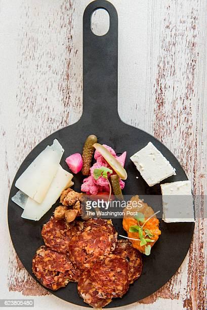 Kulen spicy salami at Ambar