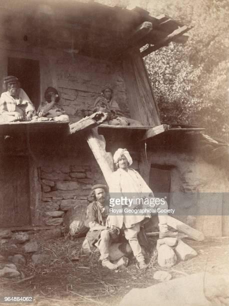 Kullu House Punjab India 1885