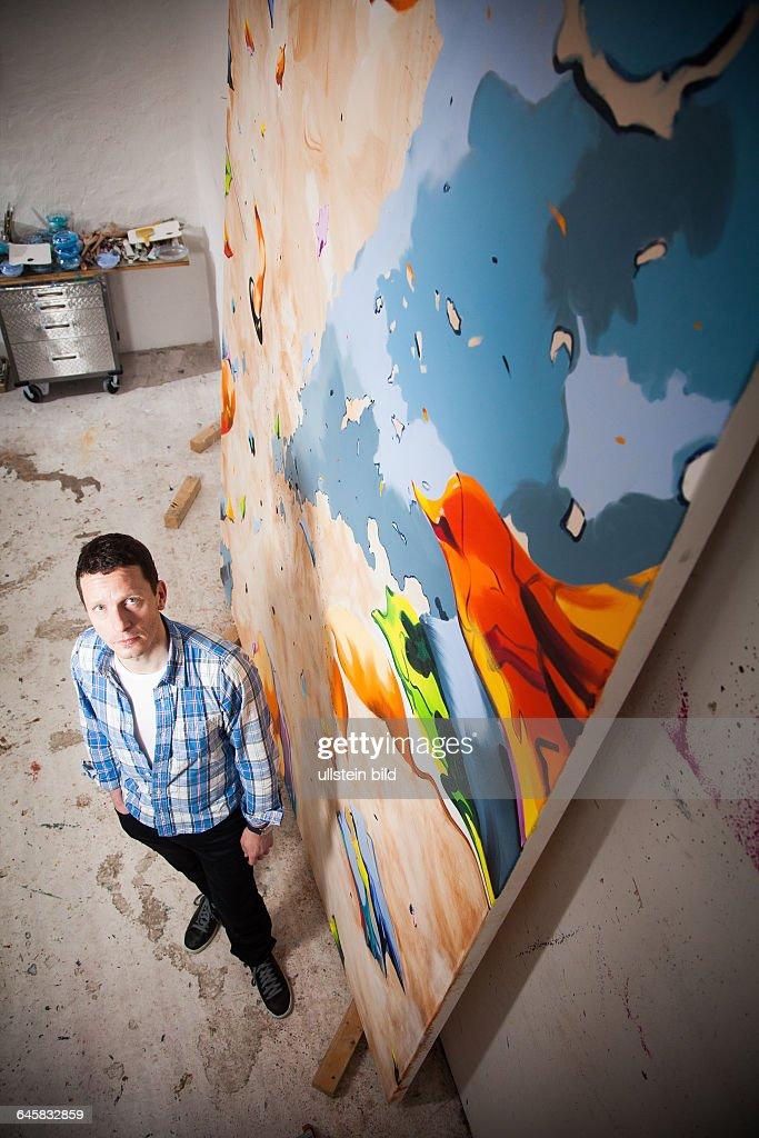 Künstler Maler Berlin kultur norbert bisky maler künstler in seinem atelier in berlin