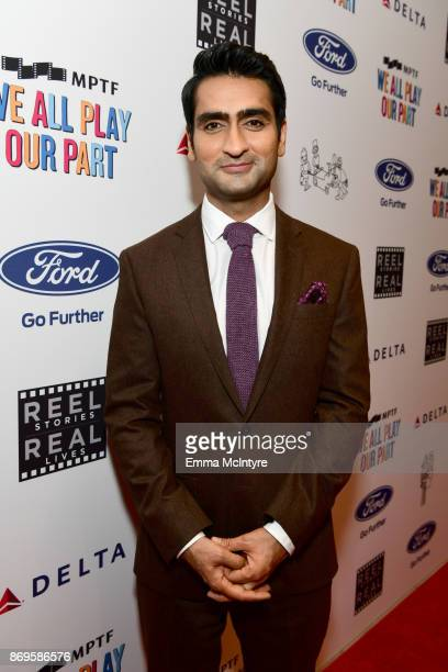 Kumail Nanjiani at the 6th Annual Reel Stories Real Lives event benefiting MPTF at Milk Studios on November 2 2017 in Hollywood California