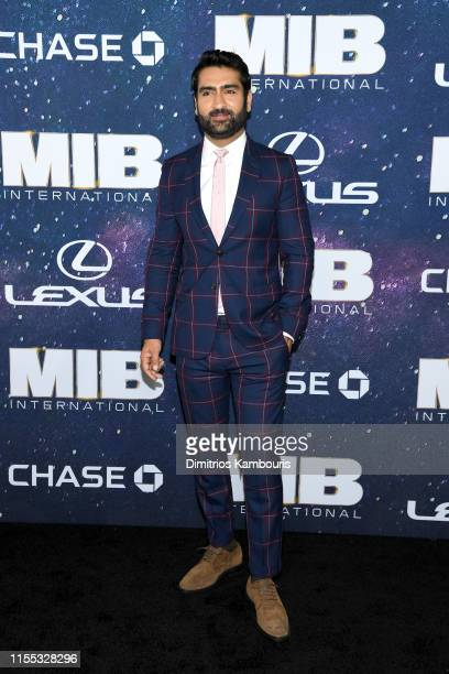 Kumail Nanjiani at the World Premiere of Columbia Pictures' MEN IN BLACK™: INTERNATIONAL, sponsored by Lexus, at AMC Lincoln Square on June 11, 2019...