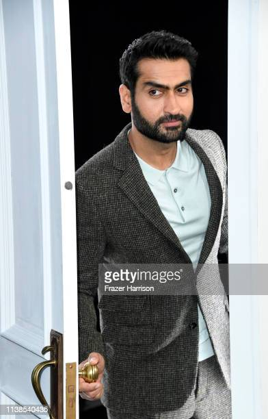"Kumail Nanjiani attends CBS All Access New Series ""The Twilight Zone"" Premiere at the Harmony Gold Preview House and Theater on March 26, 2019 in..."