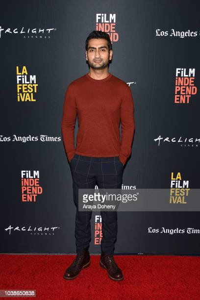 Kumail Nanjiani attends the 2018 LA Film Festival - We The People - We Got Receipts: Black Panther and Beyond at Writers Guild Theater on September...