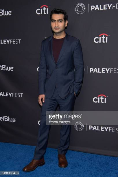 Kumail Nanjiani attends the 2018 PaleyFest Los Angeles HBO's 'Silicon Valley' at Dolby Theatre on March 18 2018 in Hollywood California