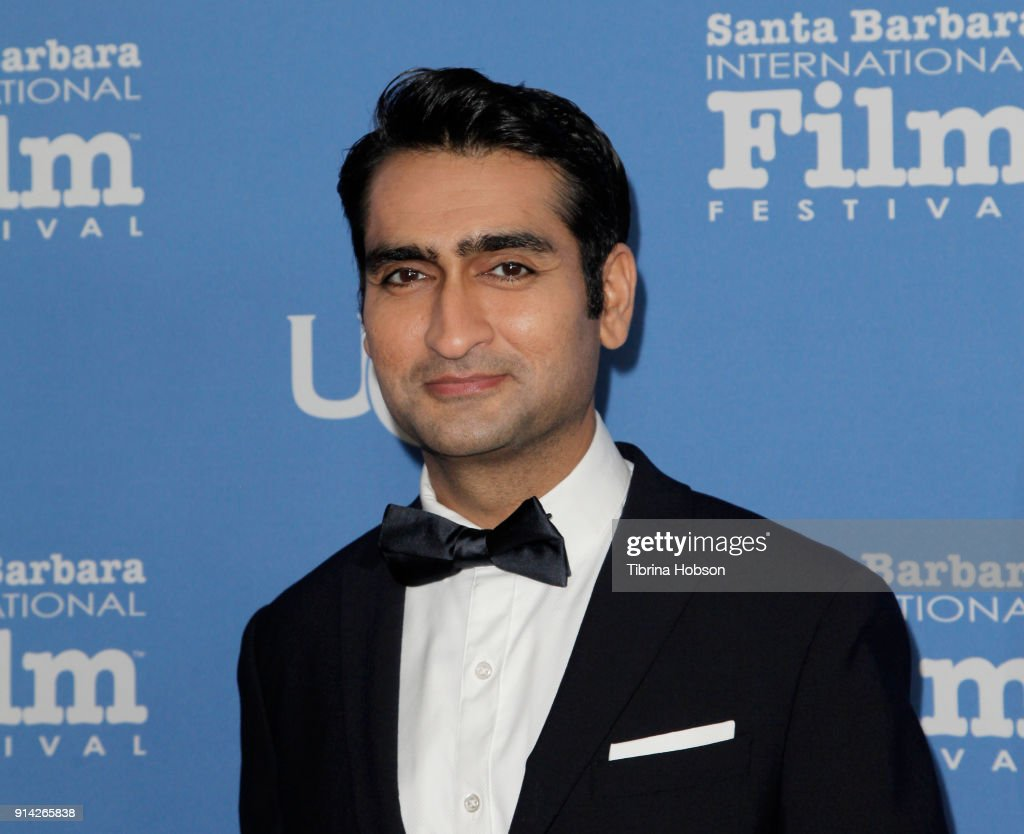 Kumail Nanjiani attends the 33rd Annual Santa Barbara International Film Festival Virtuosos Award Presentation at Arlington Theatre on February 3, 2018 in Santa Barbara, California.