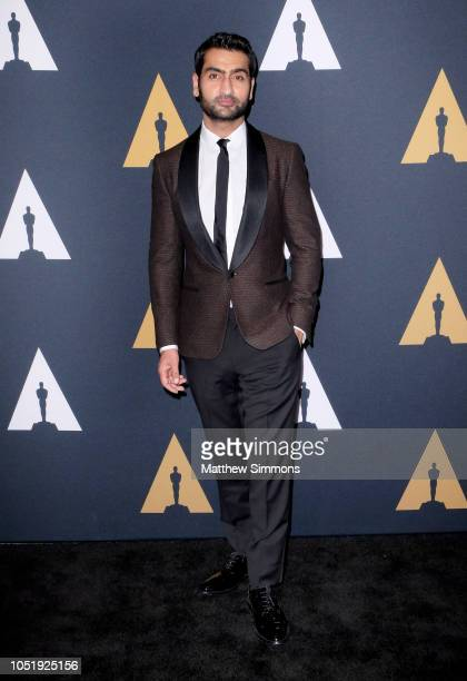 Kumail Nanjiani attends the 45th Student Academy Awards at Samuel Goldwyn Theater on October 11, 2018 in Beverly Hills, California.