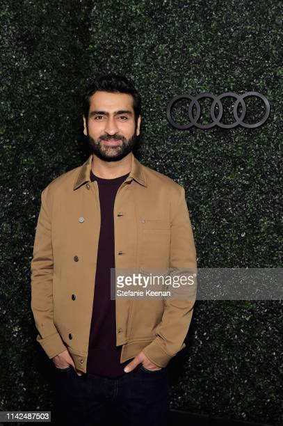 Kumail Nanjiani attends the Audi and David Chang e-tron dinner at Majordomo on May 9, 2019 in Los Angeles, California.