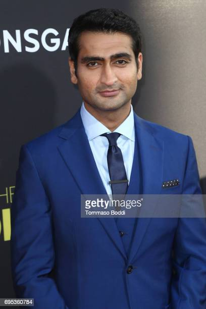 Kumail Nanjiani attends the Premiere Of Amazon Studios And Lionsgate's 'The Big Sick' at ArcLight Hollywood on June 12 2017 in Hollywood California