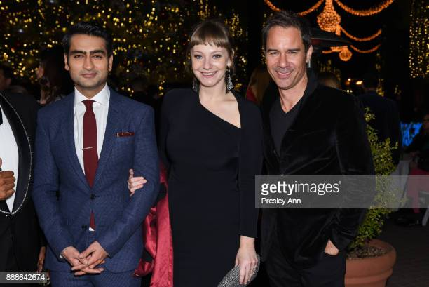 Kumail Nanjiani, Emily Gordon and Eric McCormack attend Hollywood Foreign Press Association hosts Annual Holiday Party and Golden Globes 75th...